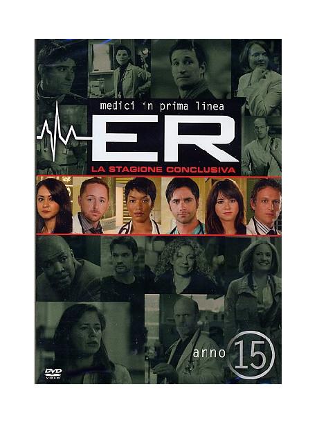 E.R. - Medici In Prima Linea - Stagione 15 (3 Dvd)
