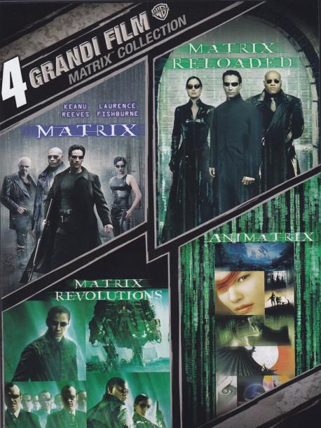 Matrix - 4 Grandi Film (4 Dvd)