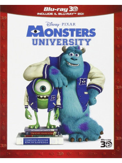 Monsters University (3D) (2 Blu-Ray+Blu-Ray 3D)