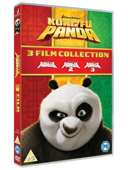 Kung Fu Panda - 3 Movie Collection [Edizione: Regno Unito]