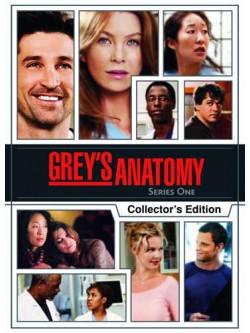 Grey's Anatomy - Season 1 (Collectors' Edition) (4 Dvd) [Edizione: Regno Unito]