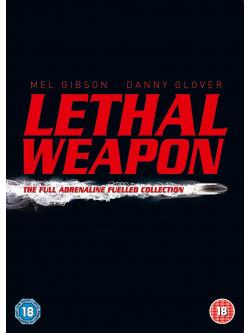 Lethal Weapon - The Complete Collection (4 Dvd) [Edizione: Regno Unito]
