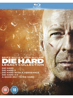 Die Hard - Legacy Collection (5 Blu-Ray) [Edizione: Regno Unito]