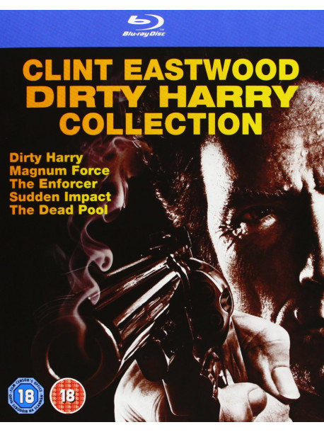 Dirty Harry Collection (5 Blu-Ray) [Edizione: Regno Unito]
