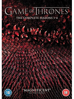 Game Of Thrones - Seasons 1-4 (20 Dvd) [Edizione: Regno Unito]