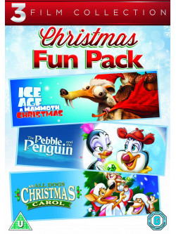 All Dogs Christmas Carol / The Pebble & The Penguin / Ice Age - A Mammoth Christmas (3 Dvd) [Edizione: Regno Unito]