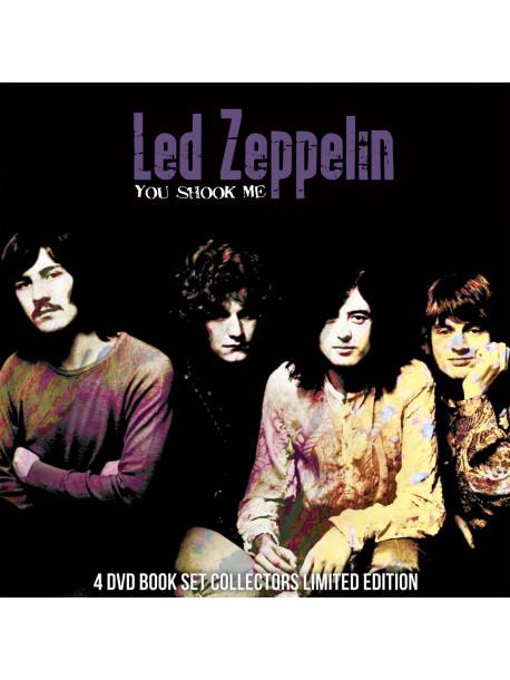 Led Zeppelin - You Shook Me (4 Dvd) [Edizione: Regno Unito]