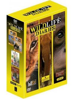 Wildlife Diaries (4 Dvd) [Edizione: Regno Unito]