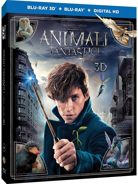 Animali Fantastici E Dove Trovarli (3D) (Blu-Ray 3D+Blu-Ray)