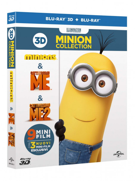 Minion Collection (3 Blu-Ray+3 Blu-Ray 3D)