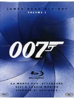 007 - La Morte Puo' Attendere / Vivi E Lascia Morire / Licenza Di Uccidere (3 Blu-Ray)