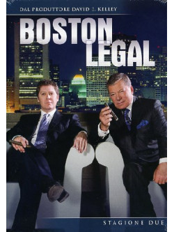 Boston Legal - Stagione 02 (7 Dvd)