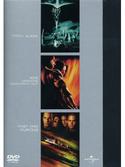 Pitch Black / Xxx / Fast And Furious (3 Dvd)