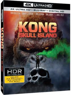 Kong: Skull Island (4K Ultra Hd+Blu-Ray+Digital Copy)
