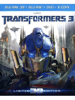 Transformers 3 (3D) (Blu-Ray 3D+Blu-Ray+Dvd+E-Copy)