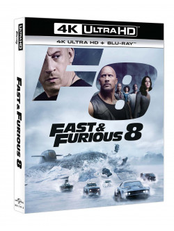 Fast & Furious 8 (Blu-Ray 4K Ultra Hd+Blu-Ray)