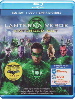 Lanterna Verde (Blu-Ray+Dvd+Copia Digitale)