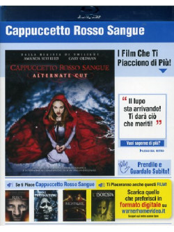 Cappuccetto Rosso Sangue (Blu-Ray+Copie Digitali)
