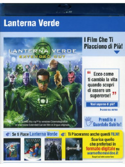 Lanterna Verde (Blu-Ray+Copie Digitali)
