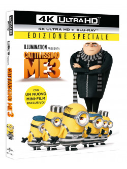 Cattivissimo Me 3 (Blu-Ray 4K Ultra Hd+Blu-Ray)