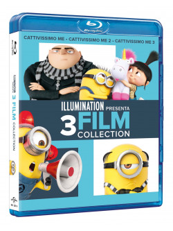 Cattivissimo Me 3 Movies Collection (3 Blu-Ray)