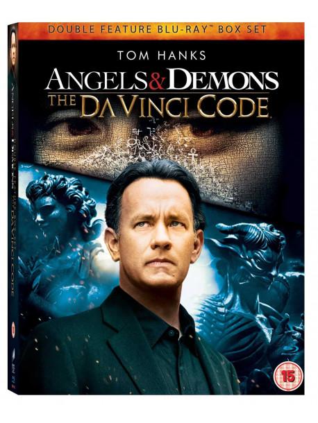 Angels Demons The Da Vinci Code Box Set 2 Blu Ray