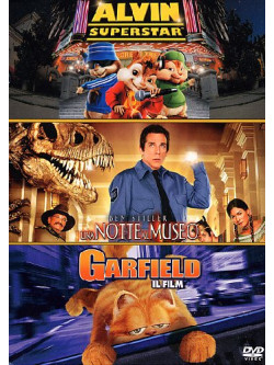 Alvin Superstar / Una Notte Al Museo / Garfield - Il Film (3 Dvd)
