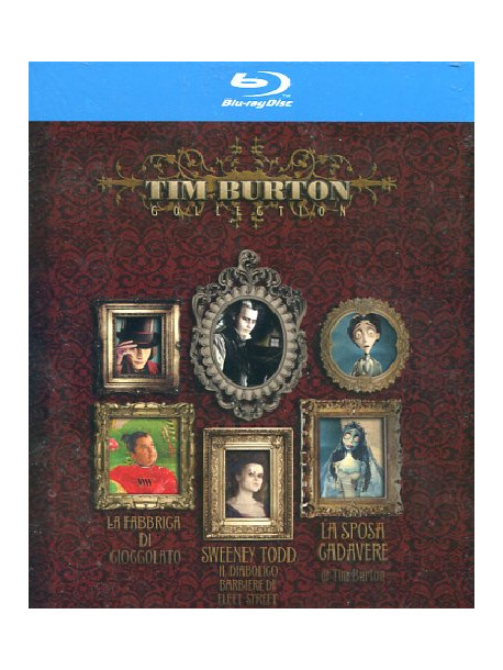 Tim Burton Collection (3 Blu-Ray)