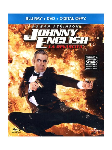 Johnny English - La Rinascita (Blu-Ray+Dvd+Digital Copy)