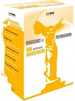 1000 Meisterwerke - Renaissance To Postmodernism (10 Dvd)