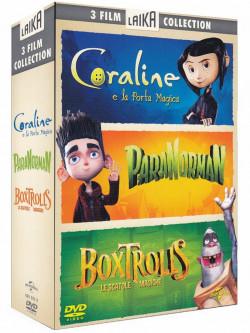 Boxtrolls (The) / Coraline E La Porta Magica / Paranorman (3 Dvd)