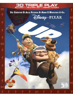Up (3D) (Blu-Ray+Blu-Ray 3D+E-Copy)