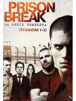Prison Break - Stagione 01-03 (16 Dvd)