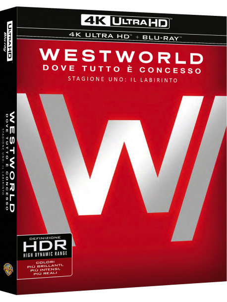 Westworld - Stagione 01 (4K Ultra Hd + Blu Ray)
