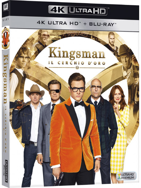 Kingsman - Il Cerchio D'Oro (4K Ultra Hd+Blu-Ray)