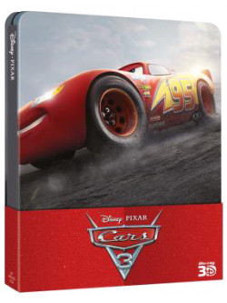 Cars 3 (Blu-Ray 3D+Blu-Ray) (Steelbook)