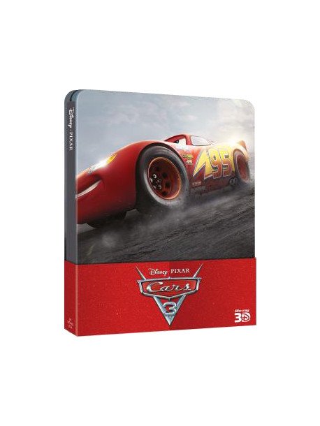 Cars 3 (Blu-Ray 3D+Blu-Ray) (Steelbook)