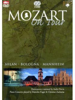 Mozart On Tour - Piano Concertos - Milan - Bologna - Mannheim (2 Dvd)