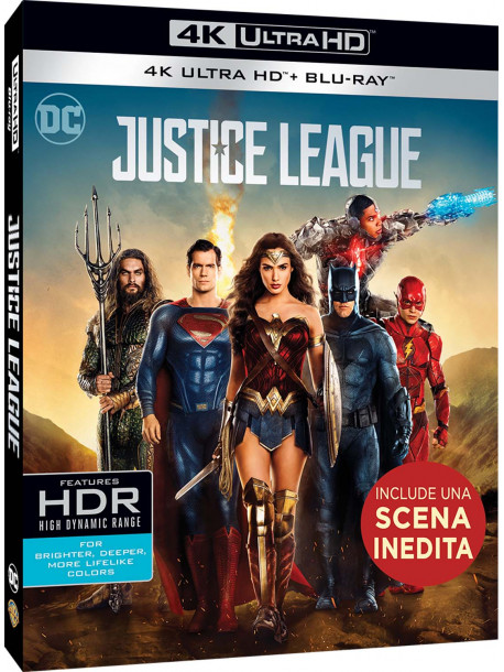 Justice League (4K Ultra Hd+Blu Ray)