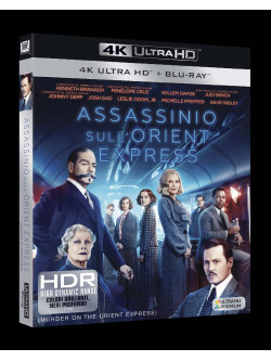 Assassinio Sull'Orient Express (4K Ultra Hd+Blu-Ray)