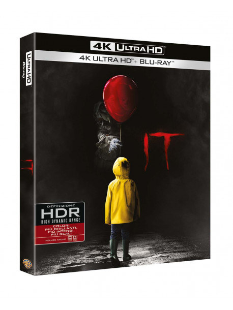 It (2017) (Blu-Ray 4K Ultra Hd+Blu-Ray)