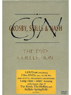 Crosby, Stills & Nash - The Dvd Collection (3 Dvd)
