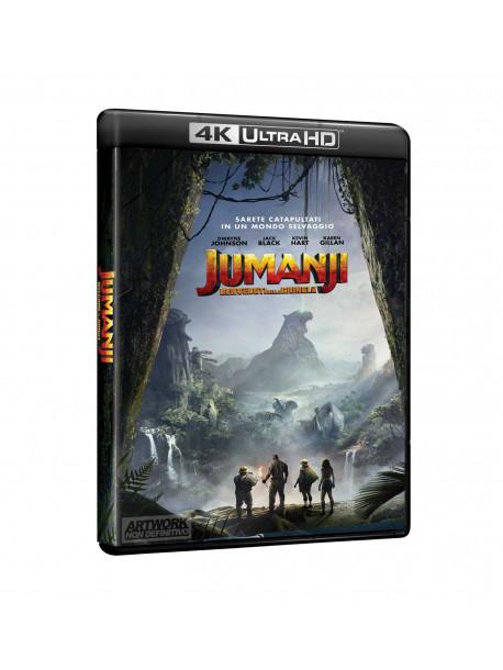 Jumanji: Benvenuti Nella Giungla (4K Uhd+Blu-Ray)