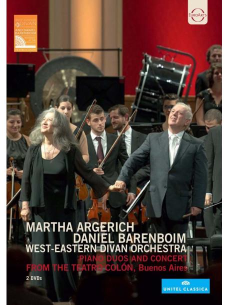 Martha Argerich - West Eastern Divan Orchestra (2 Dvd)