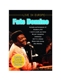 Fats Domino - Live In Europe (Dvd+Cd)