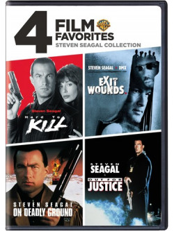 4 Film Favorites: Steven Seagal Action [Edizione: Stati Uniti]