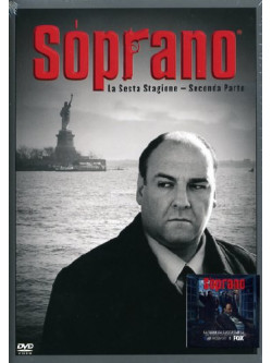 Soprano (I) - Stagione 06 02 (4 Dvd)