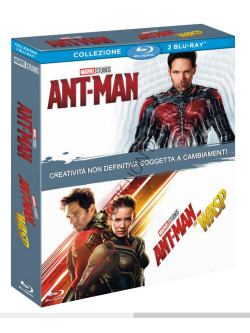 Ant-Man / Ant-Man And The Wasp (2 Blu Ray)