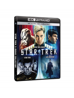 Star Trek 4K Collection (3 Blu-Ray 4K Ultra Hd+3 Blu-Ray)