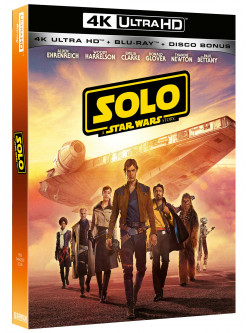 Star Wars - Solo: A Star Wars Story (Blu-Ray 4K Ultra Hd+2 Blu-Ray)
